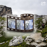 View video map Dolomiti Brenta Trek